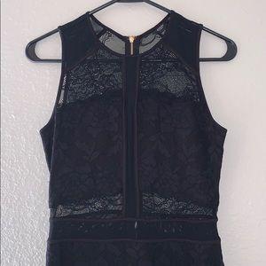 GUESS black lace dress